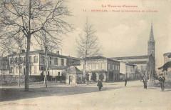 Grisolles Place Et Carrefour De L'Eglise - Grisolles