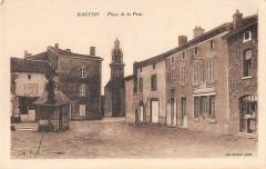 Rancon Place De La Poste - Rancon