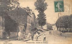 Goussainville Entree Du Chateau (cliché pas courant - Goussainville
