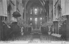 Marly La Ville Interieur De L'Eglise - Marly-la-Ville