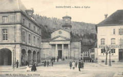 Mairie et Eglise - Raon-l'Étape