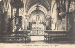 Larajasse Interieur De L'Eglise - Larajasse