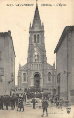Vaugneray  L'Eglise 69 Vaugneray