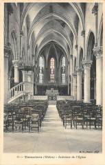 Vernaison Interieur De L'Eglise - Vernaison