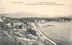 Saint Jean De Luz La Montagne Et La Mer Vue Prise DeSainte-Barbe - Mont