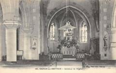 Brinon Sur Beuvron Interieur Eglise - Beuvron