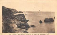 Belle Ile En Mer Sauzon Les Rochers De Port Belec - Sauzon