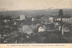 Clermont En Argonne Vue Panoramique - Clermont-en-Argonne