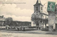 L'Eglise, la Sortie de la Messe - Vivy