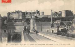 Saint Aignan Entree De La Ville - Saint-Aignan