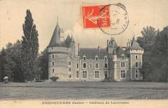 Vendoeuvres Chateau De Lancosme - Vendoeuvres