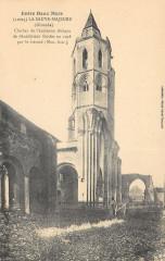 La Sauve Majeure Clocher Ancienne Abbaye (écris verso hopital A 50) - La Sauve