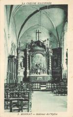 Bonnat Interieur De L'Eglise - Bonnat
