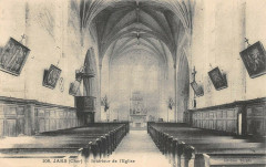 Jars Interieur De L'Eglise - Jars