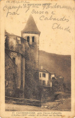 Caudebronde Pres Cuxac L'Eglise Et Le Pont Sur La Dure - Caudebronde