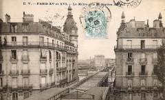 Le Métro pris de Station Alboni - Paris 16e