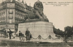 Le Lion de Belfort - Paris 14e