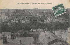 Sainte Menehould Vue Generale Prise Du Chateau - Sainte-Menehould