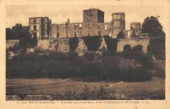 La Tour D'Aigues Ruins Du Chateau Cote Sud - La Tour-d'Aigues
