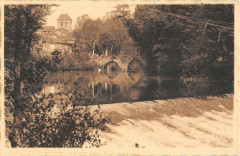 Bagnac Chaussee Et Pont Romain 46 Lot
