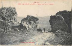 Capdenac Le Haut Passage Des Vieux Chemins - Capdenac