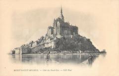 Le Mont Saint Michel Cote Du Nord Est - Le Mont-Saint-Michel