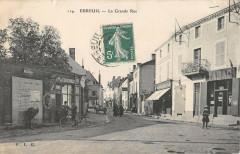 Ebreuil La Grande Rue - Ébreuil