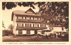 Cordon L'Hotellerie Du Mont Blanc Et Terrasse Luc Petit Jean Proprietaire - Cordon