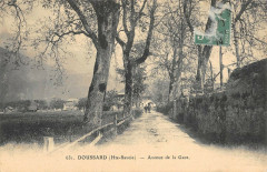 Doussard Avenue De La Gare (cliché pas courant - Doussard