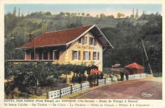 Hotel Des Usses Pont Rouge Par Usinens Route De Frangy A Seyssel - Usinens