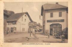 Bonne Sur Menoge La Place (cliché rare - Bonne