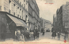 Rue des Envierges, à la Rue Piat - Paris 20e