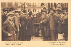 Les Petits Métiers de Paris - Le Camelot du Boulevard 75 Paris