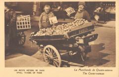 Les Petits Métiers de Paris - La Marchande de Quatre-Saisons 75 Paris
