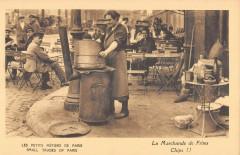 Les Petits Métiers de Paris - La Marchande de Frites 75 Paris