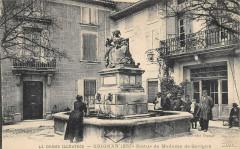 Grignan Statue Me De Sevigne - Grignan