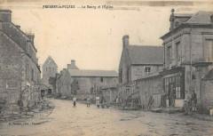 Fresney Le Puceux Le Bourg Et Eglise - Fresney-le-Puceux