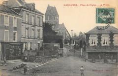 Cahagnes Place De L'Eglise Mairie - Cahagnes