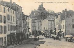 Champeix La Place Marchidial - Champeix