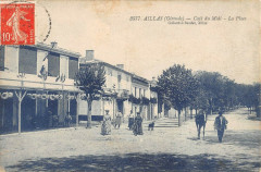 Aillas Cafe Du Midi La Place - Aillas
