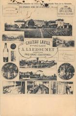 Preignac Sauternes Chateau Laville A.larroumet 2eme Cru Classe Gd Vins - Preignac