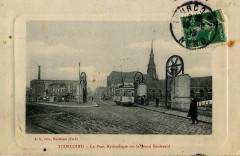 Ls - Tourcoing - Le Pont Hydraulique sur le grand Boulevard - Tourcoing