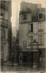Crue de la Seine - Rue des Ursins - Paris 4e
