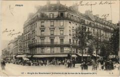 Paris 11e - Angle du Boulevard Voltaire de la rue de la Roquette - Paris 11e