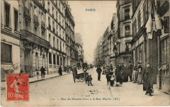 Paris 11e - Rue du Chemin-Vert a la RUe Merlin - Paris 11e