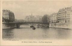 Le Pont Saint-Louis - Paris 4e