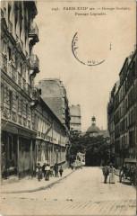 Paris 17e - Groupe Scolaire - Passage Legendre - Paris 17e