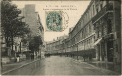 Paris 16e - Lycée Janson, rue de la Pompe - Paris 16e