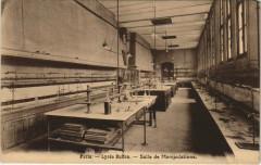 Paris 15e - Lycée Buffon - Salle de Manipulations - Paris 15e
