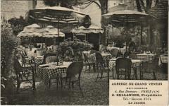 Paris 17e - Auberge du Grand Veneur 6 Rue Demours - Paris 17e